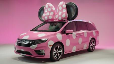 La Honda Odyssey se disfraza de Minnie... y no, no estará a la venta