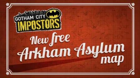 El mapa de Arkham Asylum llega a 'Gotham City Impostors'