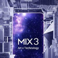 El Xiaomi Mi Mix 3 será una bestia con 10 GB en RAM: lo conoceremos el próximo 25 de octubre