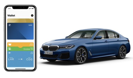 iPhone CarKey bmw