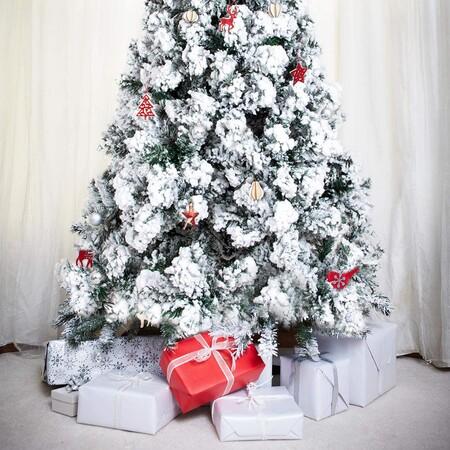 Arbol De Navidad Blanco Nevado