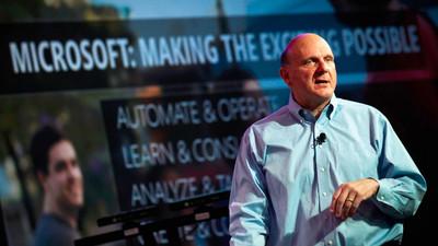 Ballmer no está seguro de su marcha, pero cree que es lo mejor para Microsoft