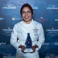 Ella es Xrysw Ruelas, la mexicana que acaba de ser nombrada mejor chef de Latinoamérica por el certamen S. Pellegrino Young Chef