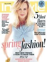 Por Dior que guapa que me han sacado a Nicole Kidman en la portada de In Style