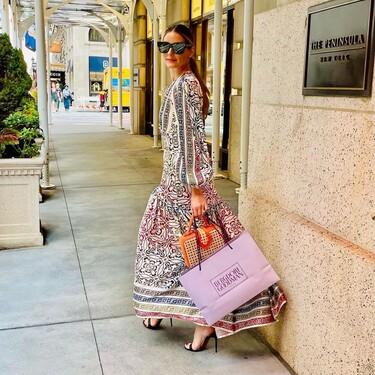 Inés Domecq y Olivia Palermo: dos mujeres con mucho estilo que tienen el mismo vestido y es así de bonito