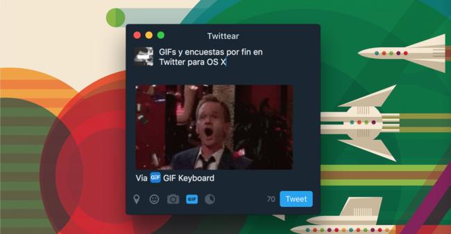GIFs en Twitter™ para Mac
