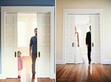 """""""Mudándose sin mamá"""", una sesión fotográfica como tributo especial de un padre y su hija"""
