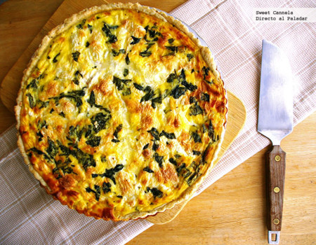 Tarta Margarita con jitomate, mozzarella y albahaca. Receta
