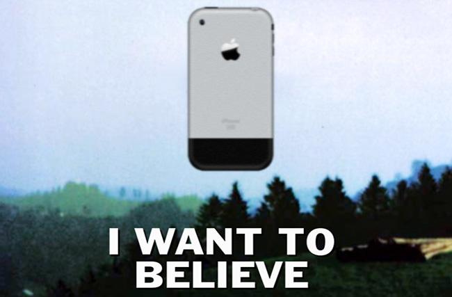 Queríamos creer en iPhone