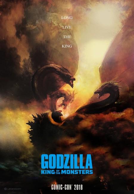 Póster de Godzilla 2 presentado en la Comic-Con