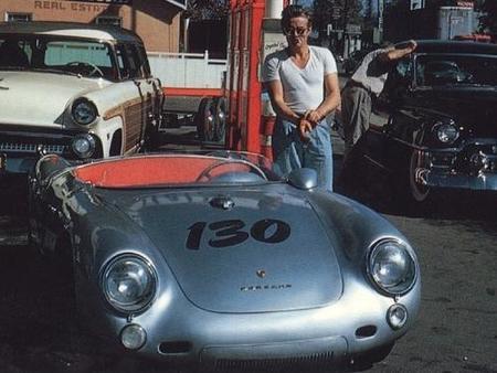 """""""Little Bastard"""", el Porsche 550 Spyder maldito"""