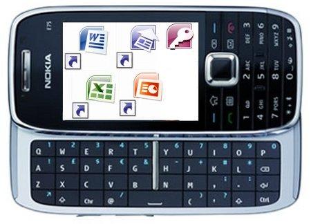 Nokia ofrecerá Office en sus terminales
