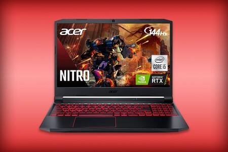 Acer Nitro 5 con precio de infarto en Amazon México: RTX 3050, Intel de 10a generación y pantalla a 144Hz por menos de 20,000 pesos