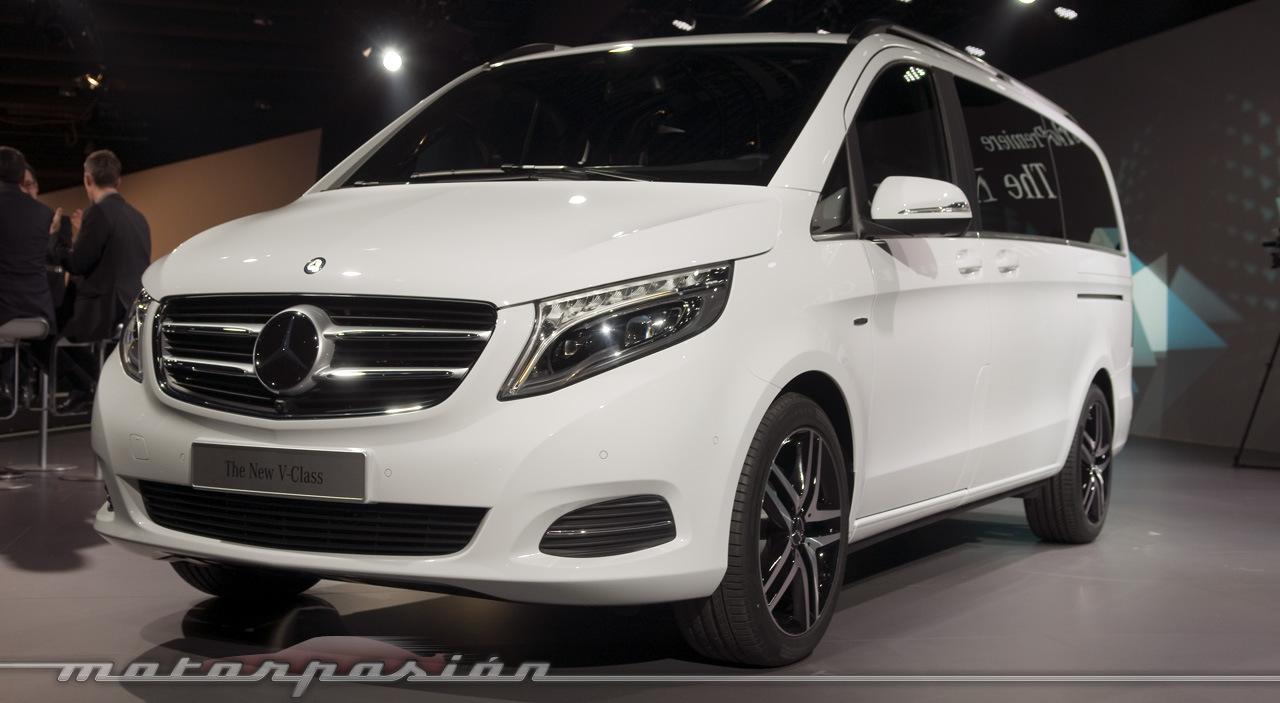 Foto de Mercedes-Benz Clase V (presentación) (23/40)