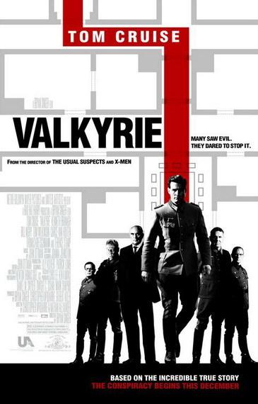 'Valkyrie' de Bryan Singer, póster y nuevo trailer