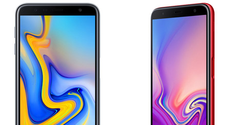 Samsung Galaxy J4+ y Samsung Galaxy J6+: cámara dual y lector de huellas lateral para la gama de entrada
