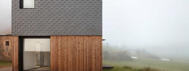 Una casa modular para un pueblo en Asturias que se construyó en cuatro meses y se instaló en cinco horas