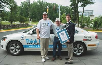 Volkswagen Passat TDI, récord Guinness de bajo consumo