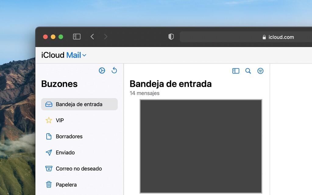 La web de iCloud estrena su rediseño de Mail y se integra con las novedades de iOS 15