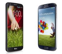 LG G2 contra Samsung Galaxy S4, comparativa de los dos móviles surcoreanos