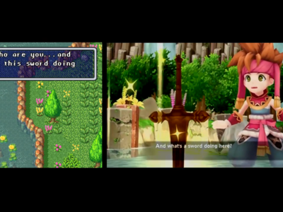 Un vídeo comparativo muestra las diferencias entre el Secret of Mana original y su remake
