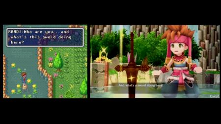 Un vídeo comparativo muestra las diferencias entre el Secret of Mana original y su remake