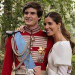 Así de espectacular es el vestido de novia de Belén Corsini
