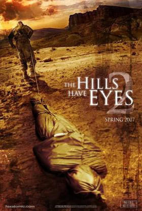 The Hills Have Eyes 2 poster aprobado