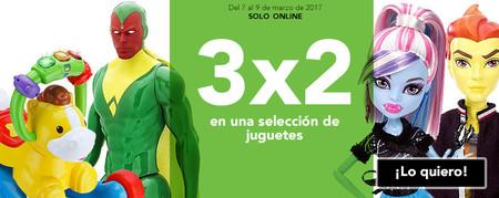 Promoción 3x2 en Toys 'r us: sólo durante hoy y mañana en 165 referencias de primeras marcas