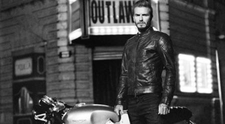 Beckham se convierte en un forajido para Belstaff