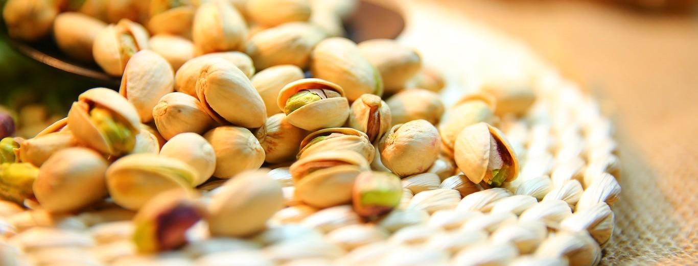 Crudo propiedades del pistacho