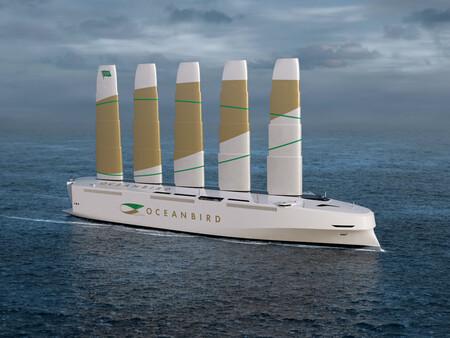 """Cargar 7.000 coches y navegar con energía eólica: así es el proyecto del carguero """"10% emisiones"""" en el que están trabajando en Suiza"""