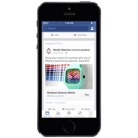 Facebook quiere que compres cosas directamente desde tu muro