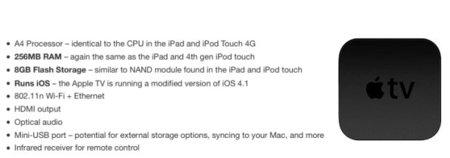 Llegan más y más detalles del nuevo Apple TV