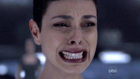 Anna llorando