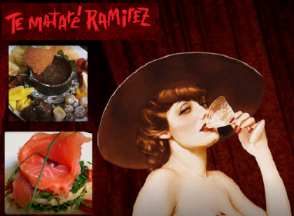 Te Mataré Ramirez, un restaurante erótico original