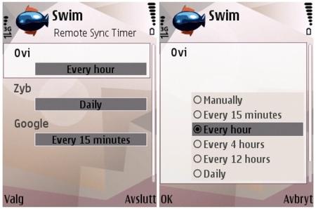 Swim, sincronización automática de datos
