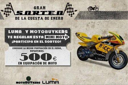 500 euros en premios con Luma y MotoBuyKers