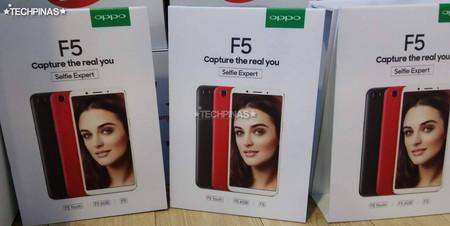 El Oppo F5 se presentará el 26 de octubre y vendrá en tres modelos con pantalla 18:9 y bordes reducidos