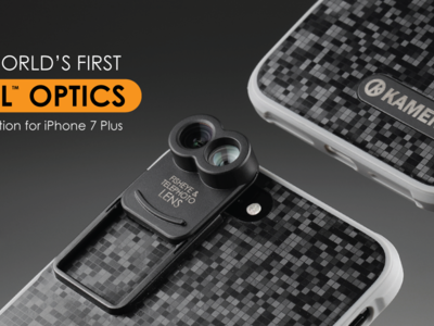 El primer kit de lentes para cámaras duales llega directamente al iPhone 7 Plus: macro y ojo de pez