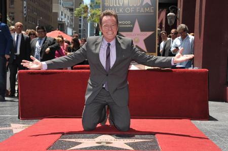 Bryan Cranston estrella salon de la fama