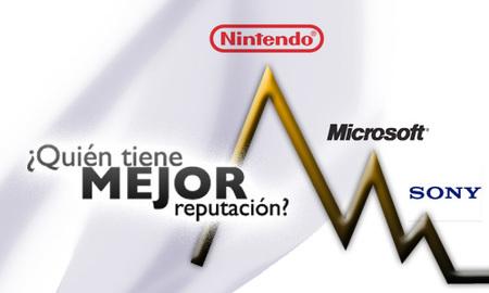 Nintendo es la compañía de videojuegos con mejor reputación... Sony y Microsoft se desploman