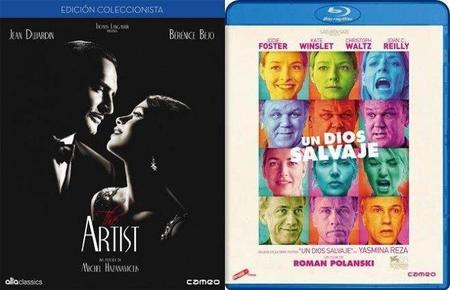 'The Artist' y 'Un Dios Salvaje' al fin en dvd y blu-ray