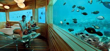 ¿Un Spa debajo del agua?