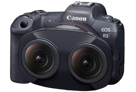 Este curioso objetivo de Canon cuenta con dos lentes de ojo de pez, y con él es posible crear contenido 3D y VR