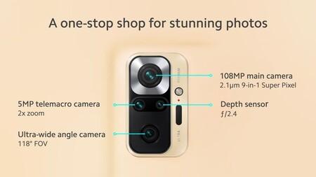 Xiaomi Redmi Note 10 Pro Oficial Camaras 108 Megapixeles