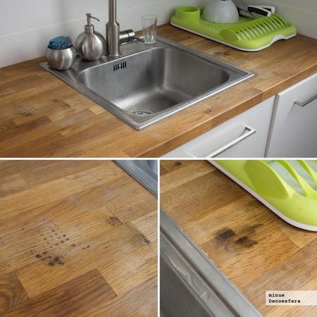 Mi experiencia tras dos a os con una cocina de ikea con - Encimeras de madera maciza ...