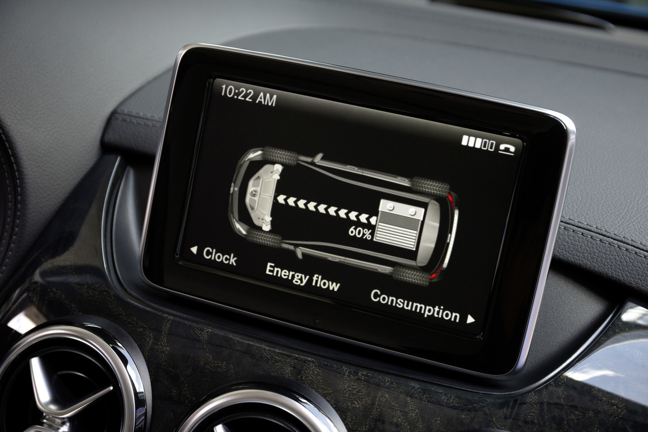 Foto de Mercedes Clase B Electric Drive (11/26)