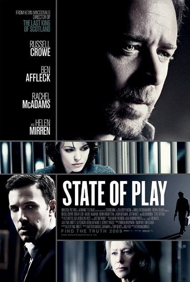 'State of Play' con Russell Crowe, póster