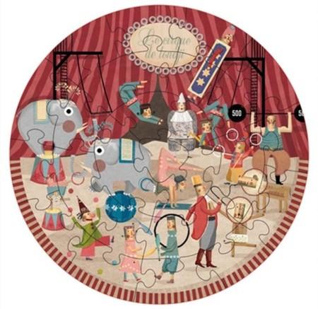 Round-Puzzle-Circus